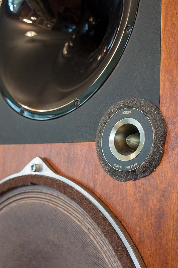 Open Baffle super-tweeter